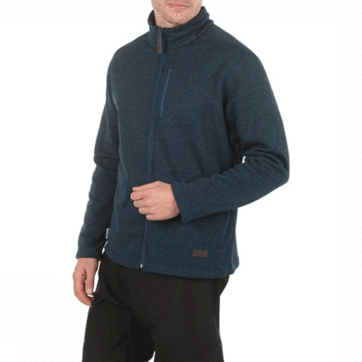 SPRAYWAY ROWE FLEECE JACKET BLACK/LAGOON