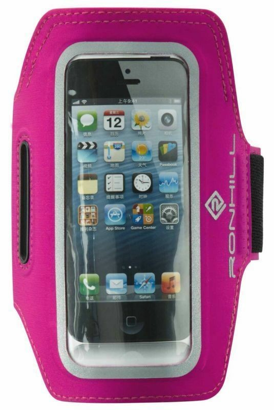 RON HILL PHONE ARMBAND FOR RUNNING OR GYM PINK NEW