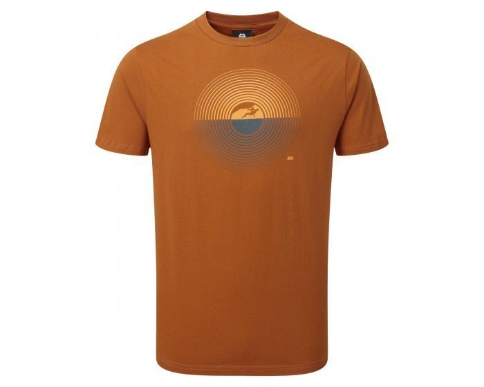 MOUNTAIN EQUIPMENT PRISM TEE PUMPKIN X-LARGE NEW