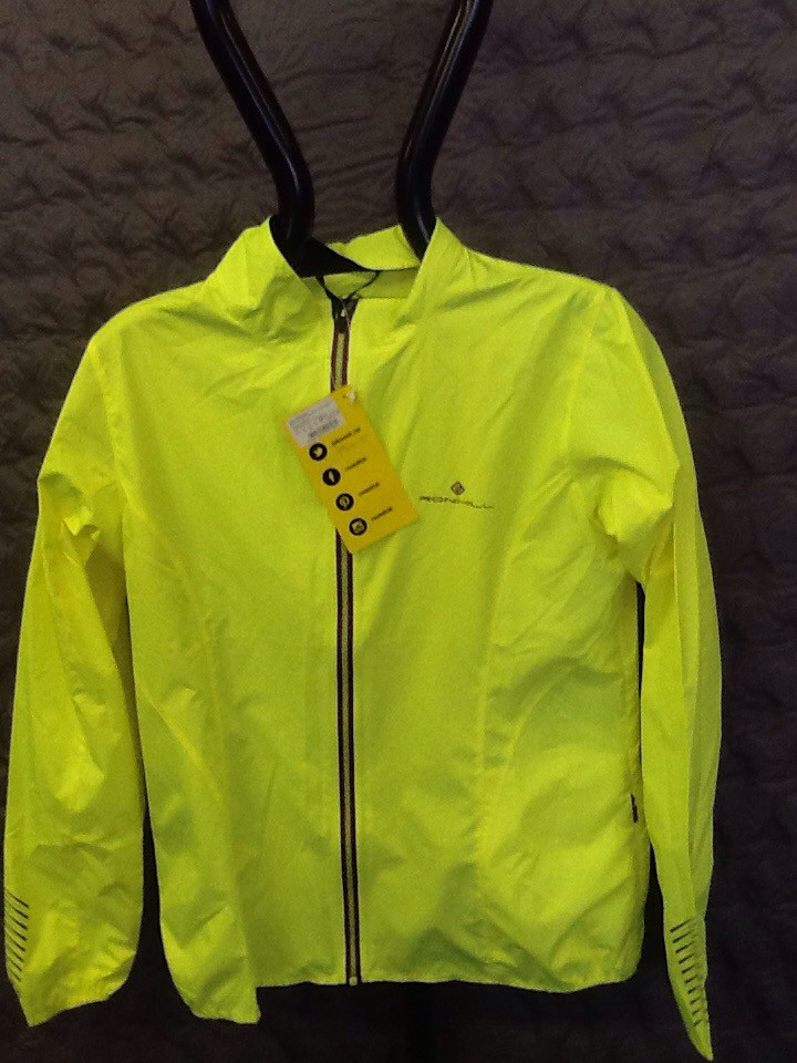 RONHILL WOMEN's STRIDE WINDSPEED JACKET FLUO YELLOW 10