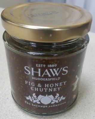 Fig and Honey Chutney