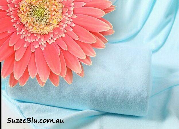 Jessicurl Australia Microfibre Plunking Towel - Tropical Water