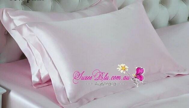 Jessicurl Australia Silk Pillowcase- Blush