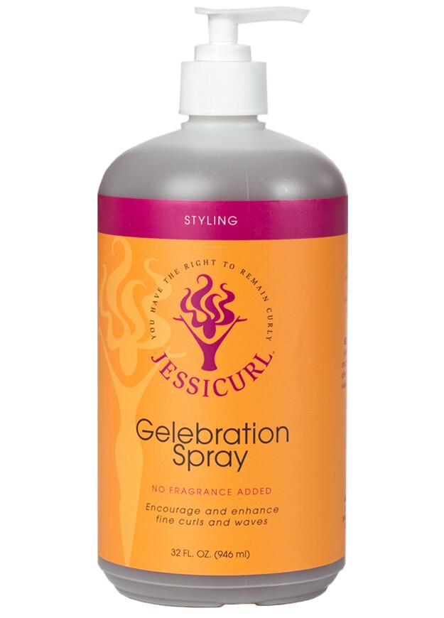 Jessicurl Gelebration Spray No Fragrance Added 946ml (32oz)