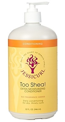 Jessicurl Too Shea! Conditioner No Fragrance Added 946ml (32oz)