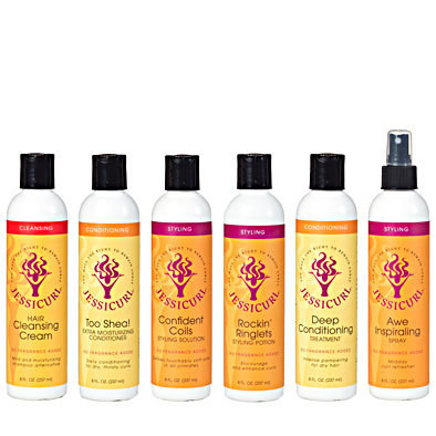 Jessicurl Rich & Radiant Collection No Fragrance Added 237ml (8oz)