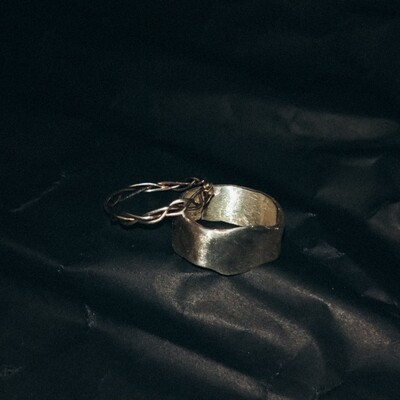 *SIZE 4.5–5 Blank Canvas and Chain Ring Set