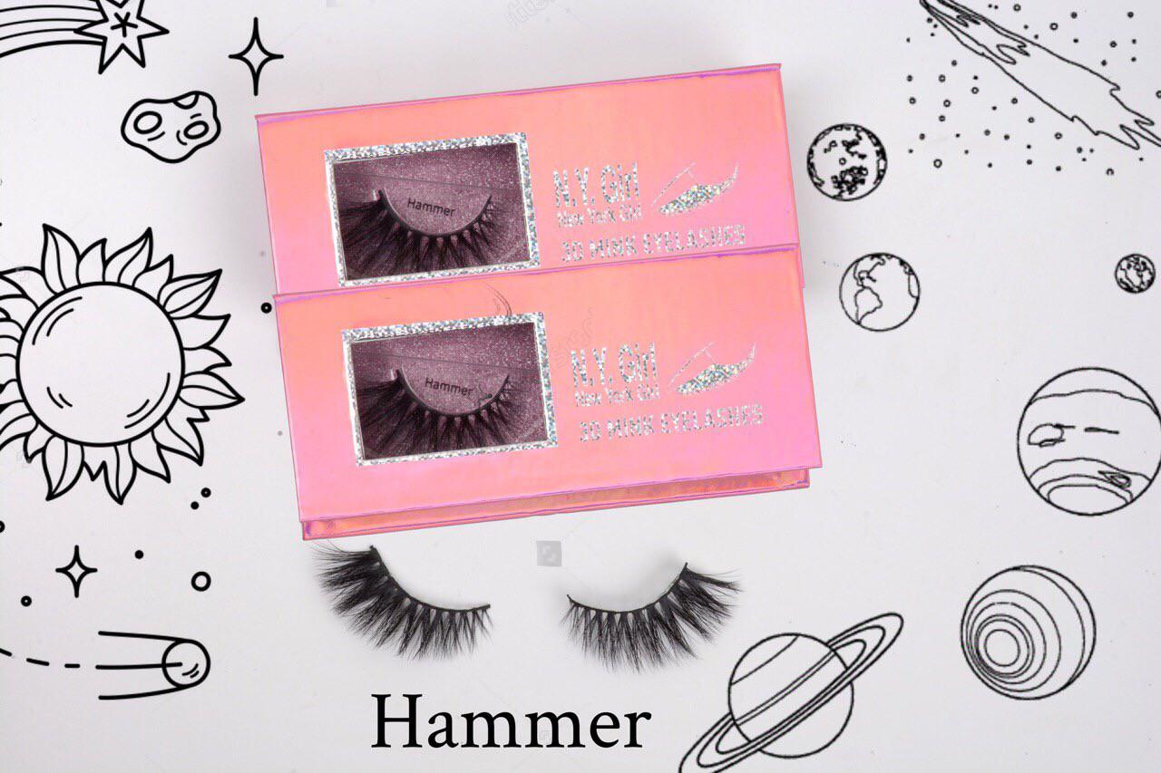 NYG Hammer 3D Mink Eyelashes - New York Girl