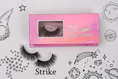 NYG Strike 3D Mink Eyelashes - New York Girl