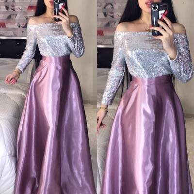 فستان مناسبة