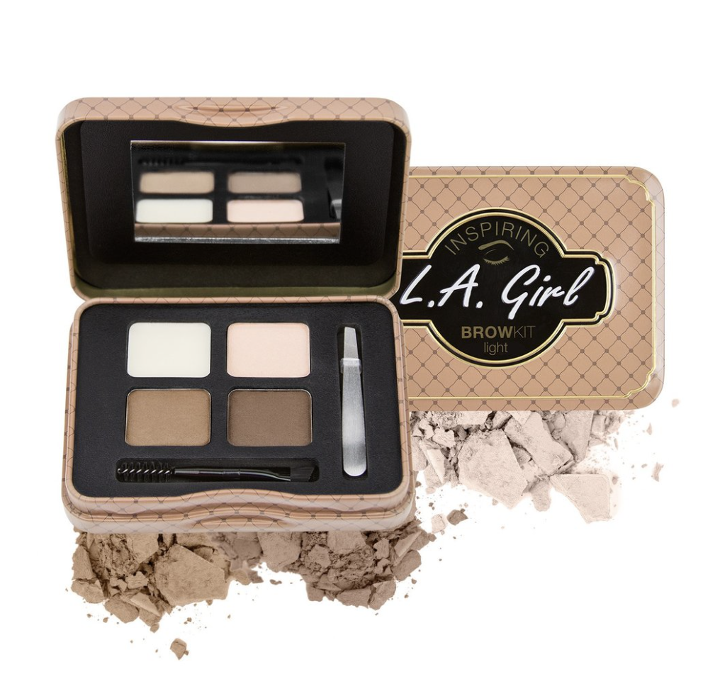 GES341 INSPIRING BROW KIT - LIGHT AND BRIGHT علبة ظلال حواجب
