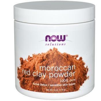 8190 MOROCCAN RED CLAY POWDER 6 OZ الطين المغربي