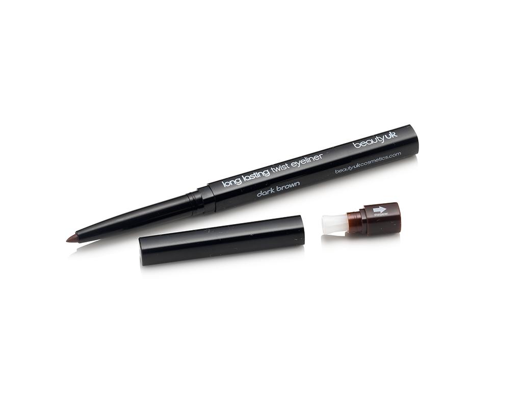 BE2135-2 Twist eye liner no.2 dark brown قلم تحديد ماجك