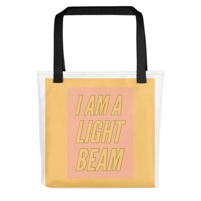 I Am A Lightbeam - Tote bag