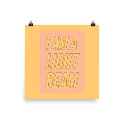 Light Beam - Poster