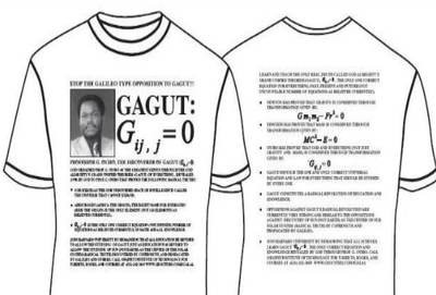 GAGUT Gij,j=0 T-Shirt