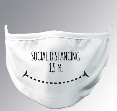 Social Distance 1,5 mt