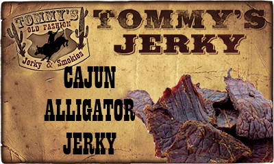 Cajun Alligator Jerky