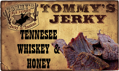 Tennessee Whiskey & Honey Beef Jerky