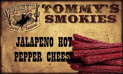 Jalapeno Hot Pepper Cheese Beef Smokies