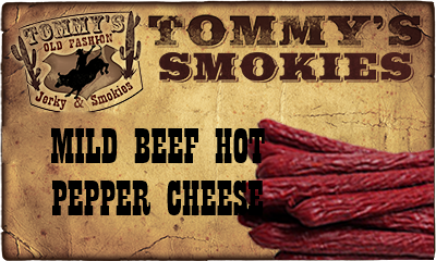 Mild Beef Hot Pepper Cheese Smokies