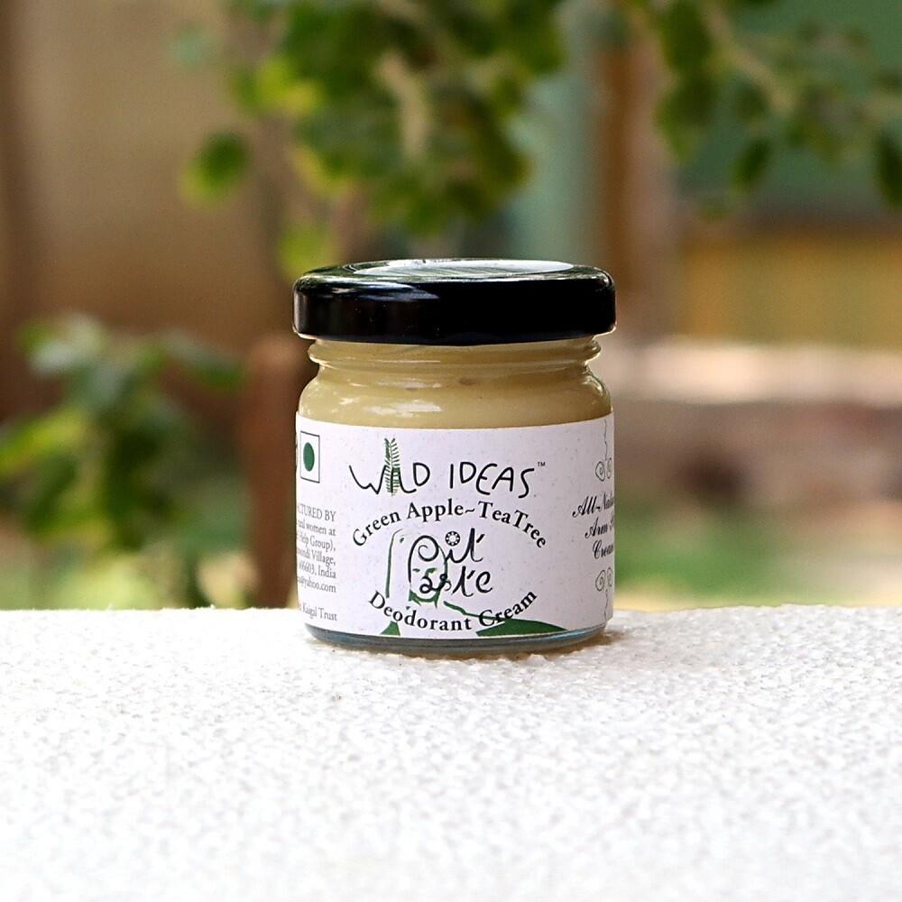 Pit Paste - Deodorant Cream | Green Apple & Tea Tree