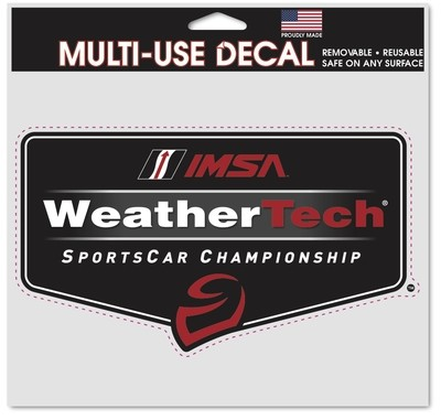 WeatherTech Series Decal