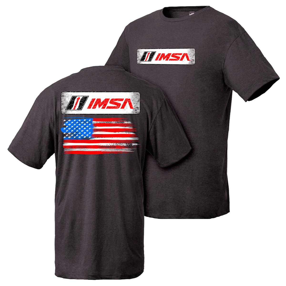 IMSA Flag Design - Black Heather