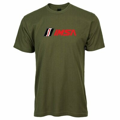 IMSA FC Logo T-Military Green