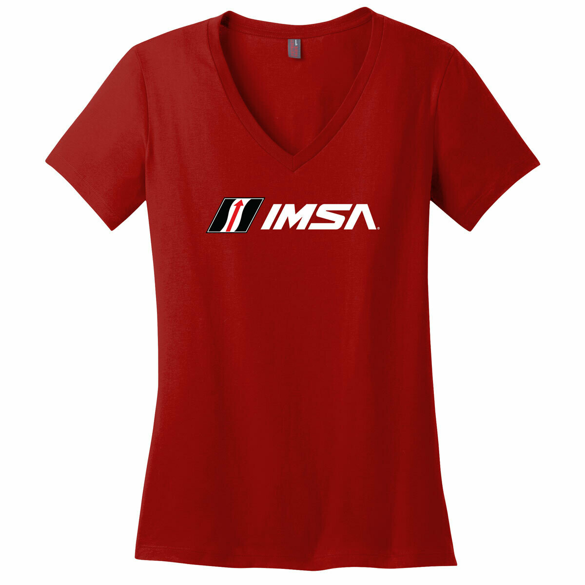 IMSA Ladies V-Neck -Red