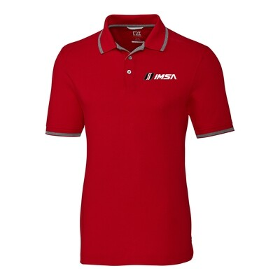 IMSA C&B Adv.Tip Polo Red
