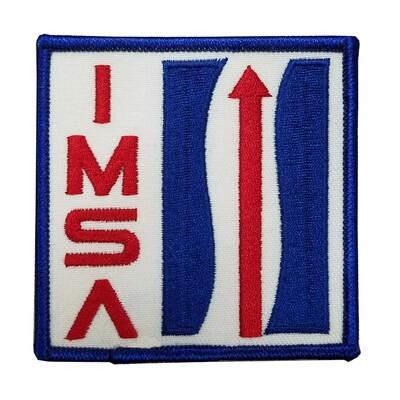 IMSA Retro Logo Twill  Patch