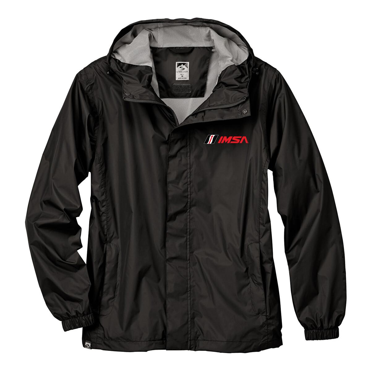 IMSA Waterproof Jacket Blk/Gry