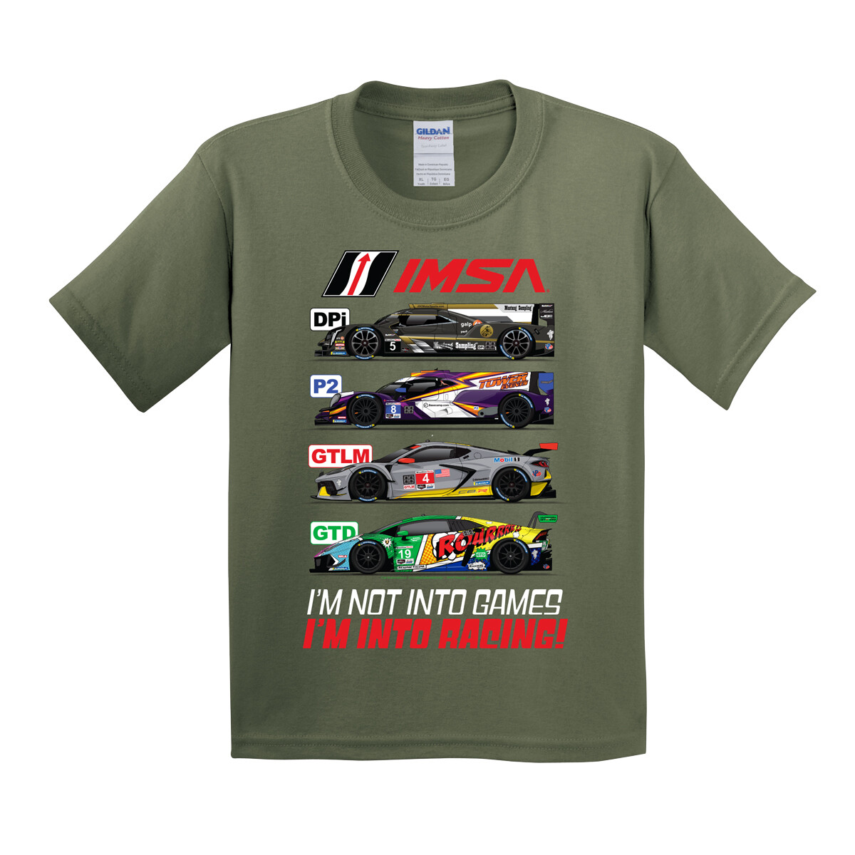 IMSA Youth Class T-Military
