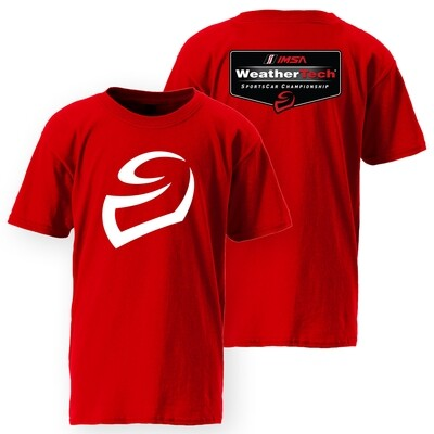 Youth Red Weathertech Tee