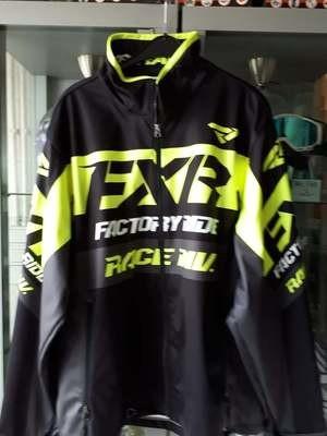 FXR jas geel/zwart/wit