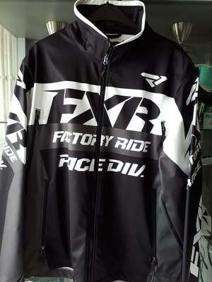 FXR jas wit/zwart