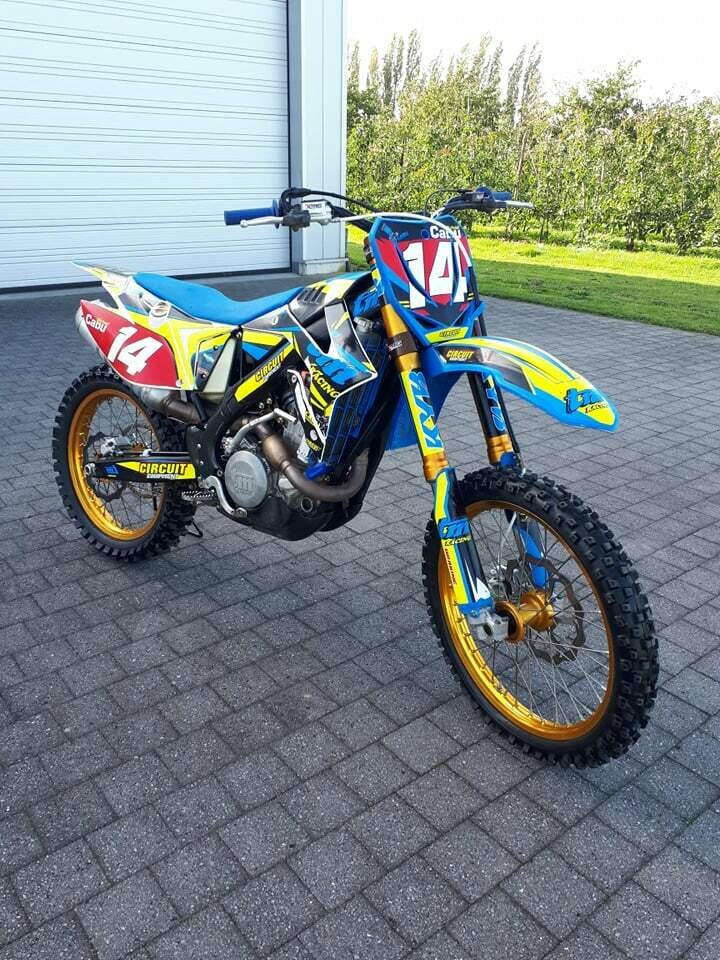 TM450 MX special edition   2019