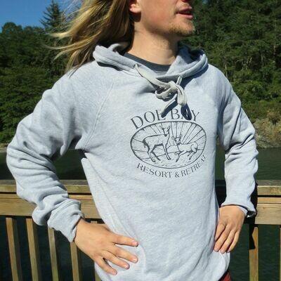 Pullover Hoodie-Grey