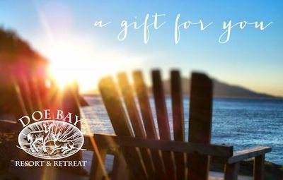 Doe Bay Gift Card $25-$1000