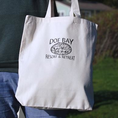 Doe Bay Tote Bag
