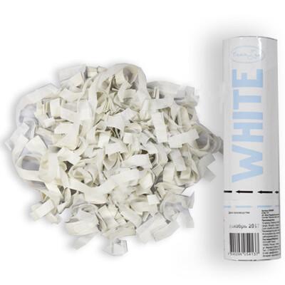 Хлопушка (белое конфетти) 20см