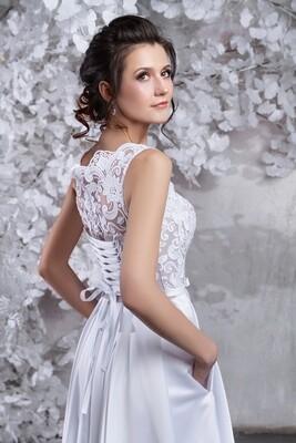 Свадебное платье «Мадонна»