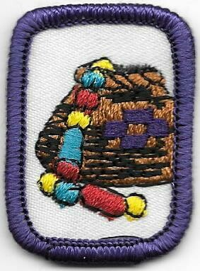 Folk Arts Purple Border 1980-1996
