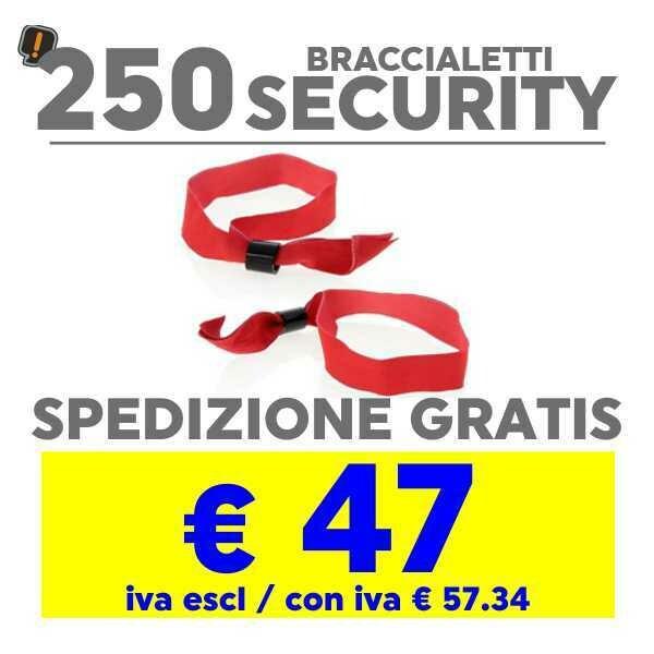 250 Braccialetto Security SPEDIZIONE GRATIS