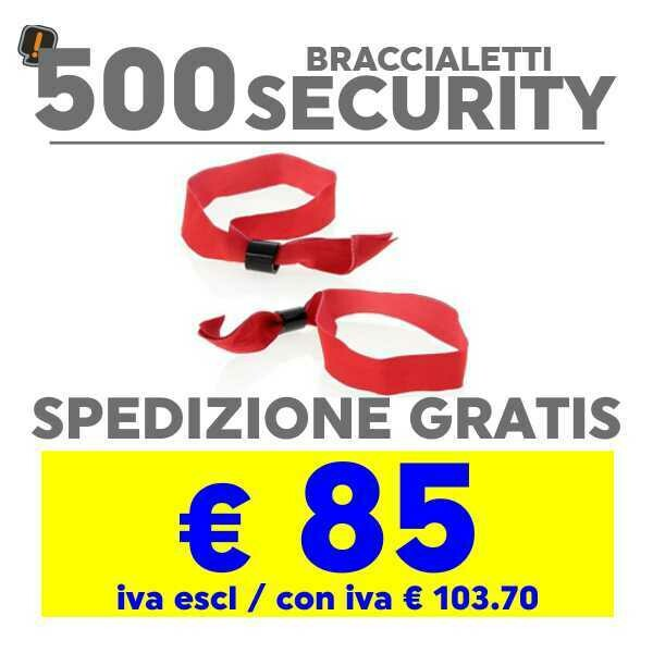 500 Braccialetto Security SPEDIZIONE GRATIS