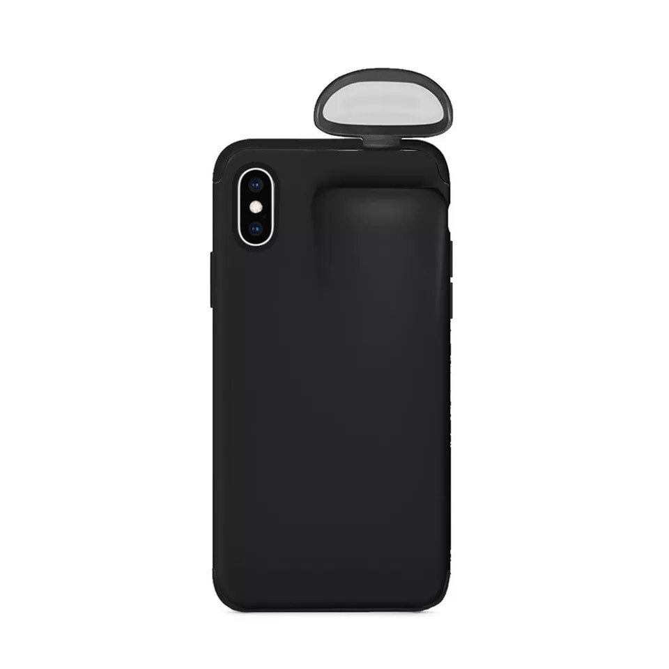 iPhone Case With AirPods Carrier