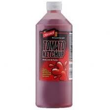 Tomato Ketchup Bottle 1 x 1ltr