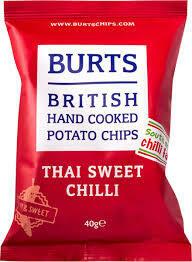 Burts Chilli Crisps 16 x 20g