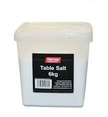 Table  Salt 1 x 6 kilo